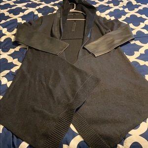 Blank NYC cardigan with hood